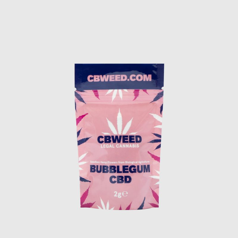 Cannabis Light Cbweed Bubblegum CBD – 2g EU