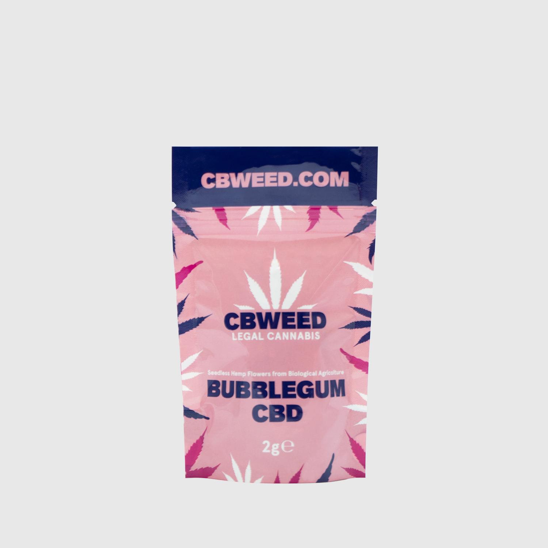Cannabis Light Cbweed Bubblegum CBD – 2g EU
