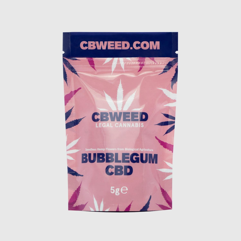 Cannabis Light Cbweed Bubblegum CBD – 5g EU