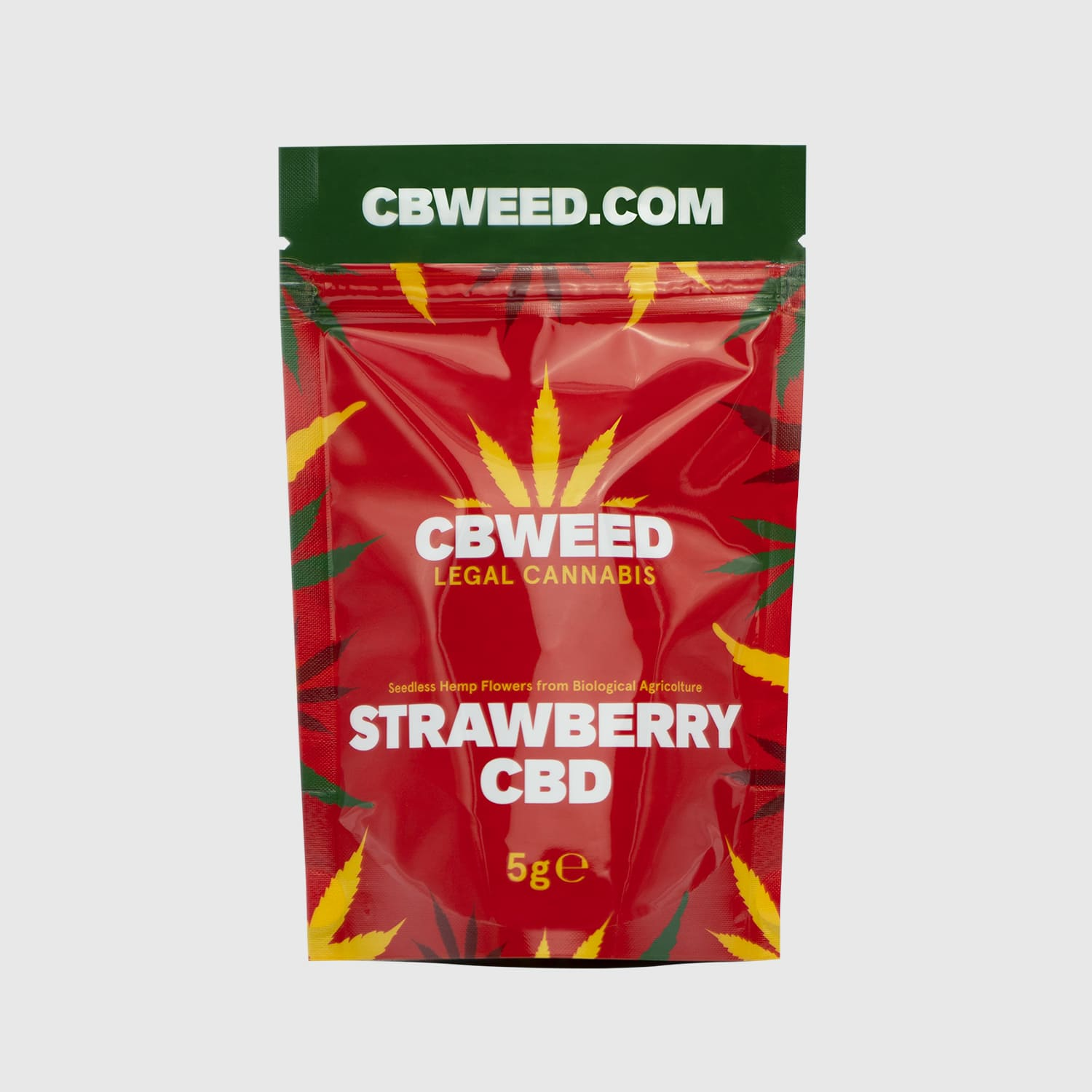 Cannabis Light Strawberry CBD – 5g EU
