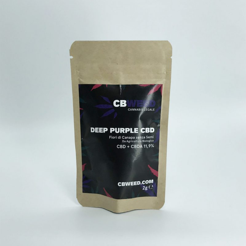 Cannabis Light Cbweed Deep Purple 2g