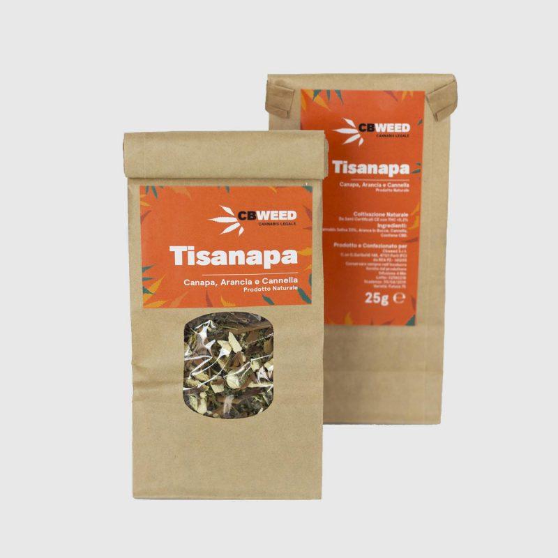 CBWEED-Tisanapa-Canapa-Arancia-Cannella