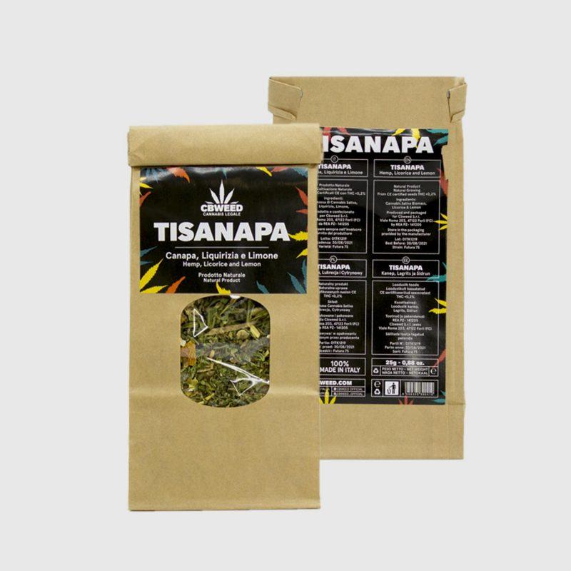 CBWEED-Tisanapa-Canapa-Limone-Liquirizia