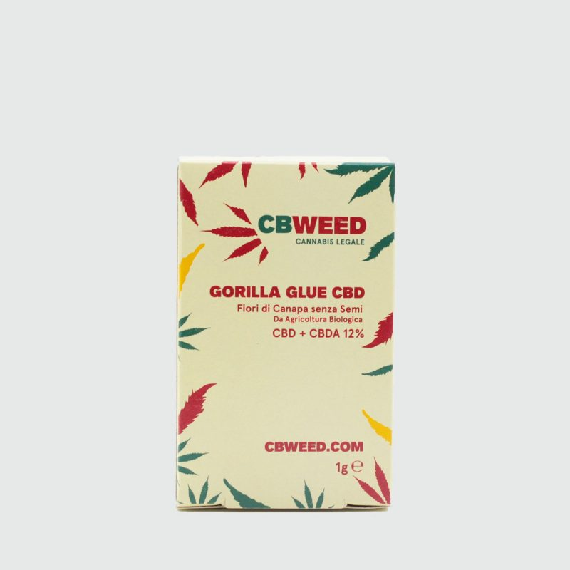 Cannabis Light  GORILLA GLUE CBD – 1g EU
