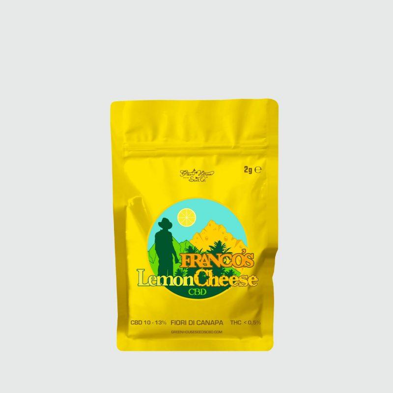 CBWEED-Green-House-Seed-Franco's-Lemon-Cheese-CBD-2g